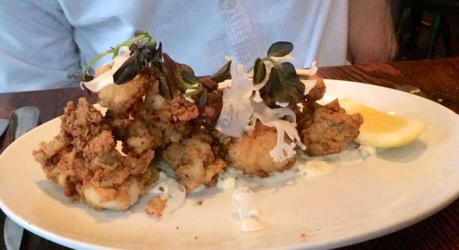 Wayfare Tavern fried oysters ($12)