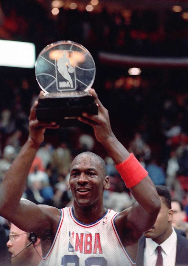 1998 - Michael Jordan East 135, West 114 New York 23 points, 8 assists, 6 rebounds and 3 steals Photo: FRED JEWELL, ASSOCIATED PRESS