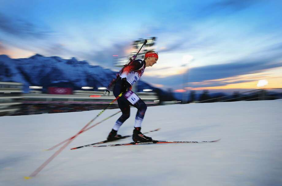 Amanda Lightfoot of Great Britain competes in the Women's 15 km Individual during day seven of the Sochi 2014 Winter Olympics at Laura Cross-country Ski & Biathlon Center on February 14, 2014 in Sochi, Russia. Photo: Richard Heathcote, Getty Images