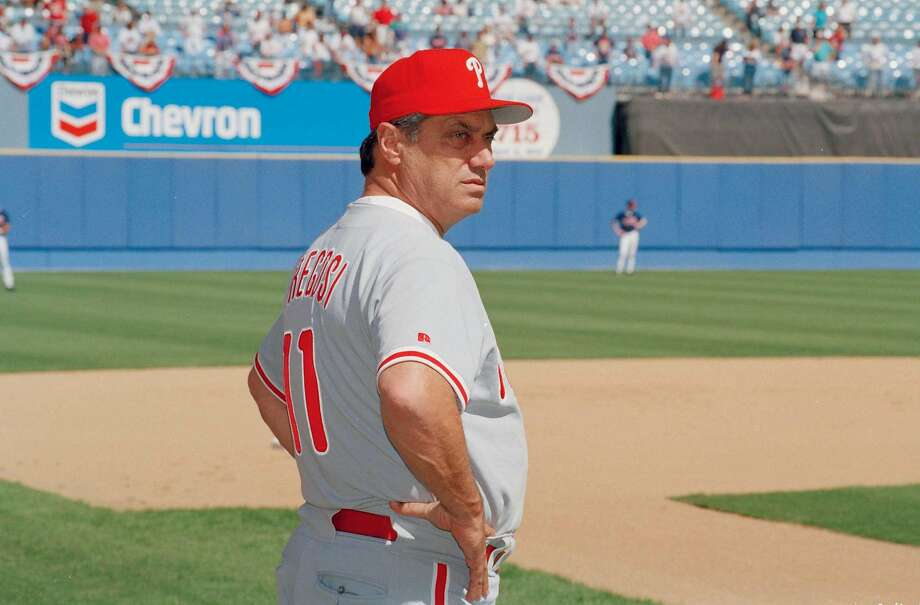 Jim Fregosi managed the 1993 Phillies to the World Series. Photo: Ed Reinke, Associated Press