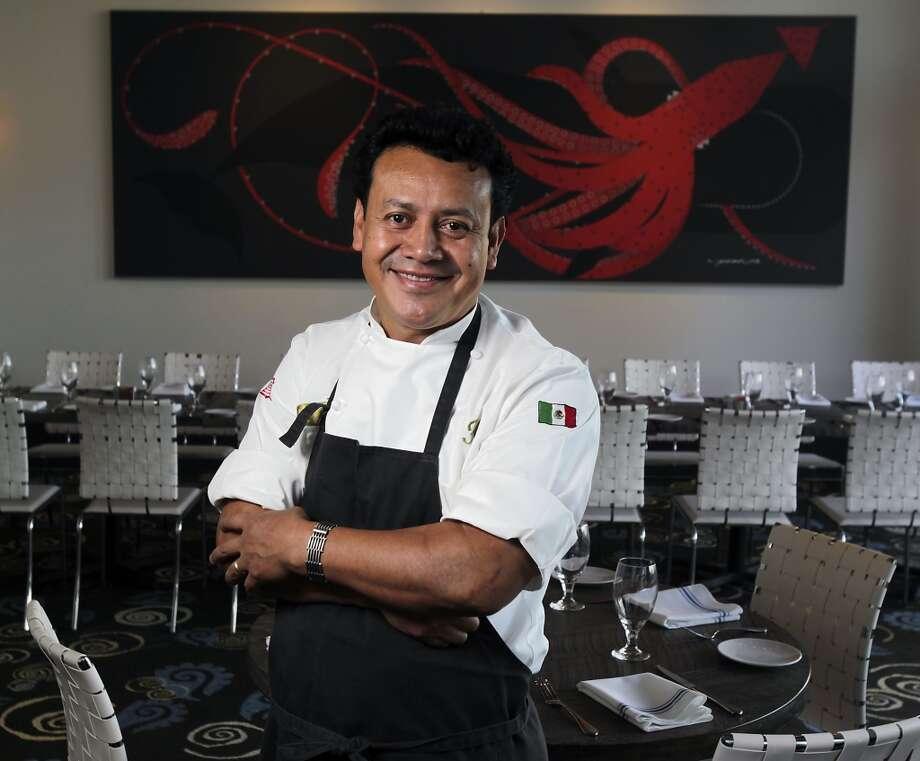 Caracol restaurant Chef Owner Hugo Ortega poses for a portrait. (James Nielsen / Houston Chronicle ) Photo: James Nielsen, Houston Chronicle