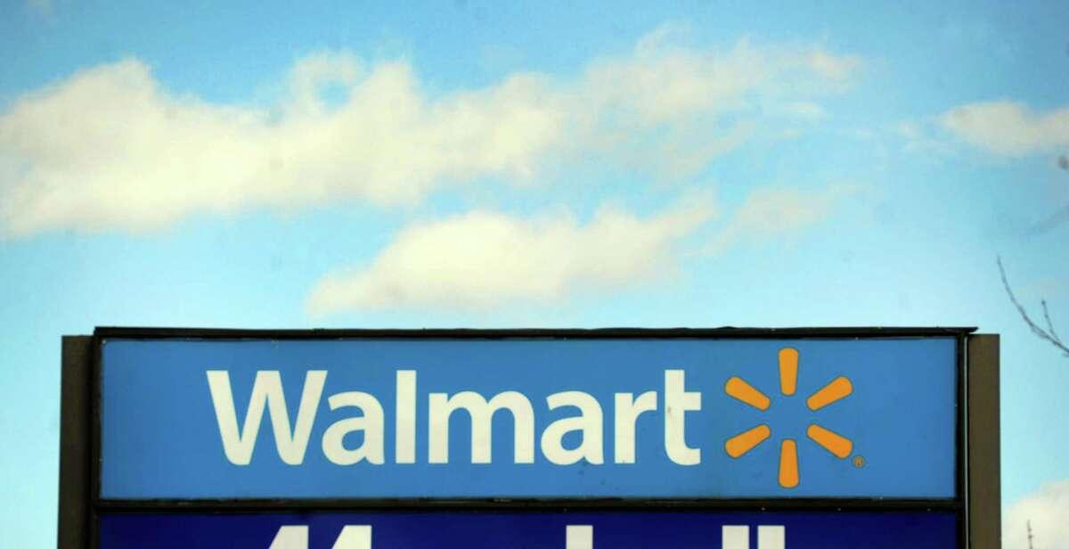 Walmart on Newtown Road in Danbury, Conn., Friday, Feb. 14, 2014.