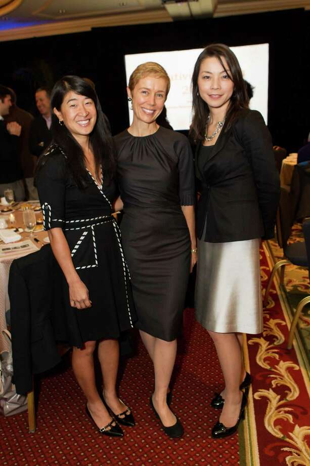 Mae O'Malley, Larissa Roesch and Keiko Horkan at the Bay Area Discovery Museum and Center for Childhood Creativity's Creativity Forum 2014 on February 7, 2014. Photo: Laura Morton For Drew Altizer, Drew Altizer Photography / Drew Altizer Photography