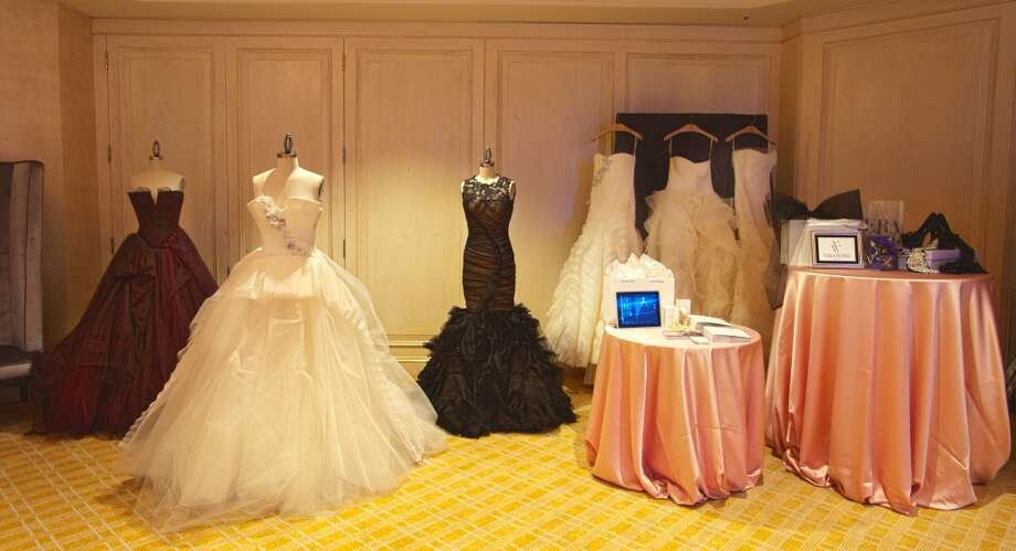 "Vera Wang gowns at the Mandarin Oriental's ""The One"" event March 9. Photo: Mandarin Oriental"
