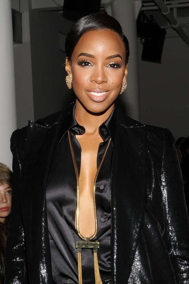 Kelly Rowland attends the Houghton fashion show. Photo: Mireya Acierto, Getty Images