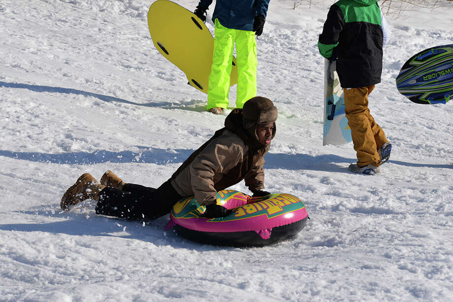 Were you SEEN sledding and having fun in the snow? Photo: Andrew Merrill