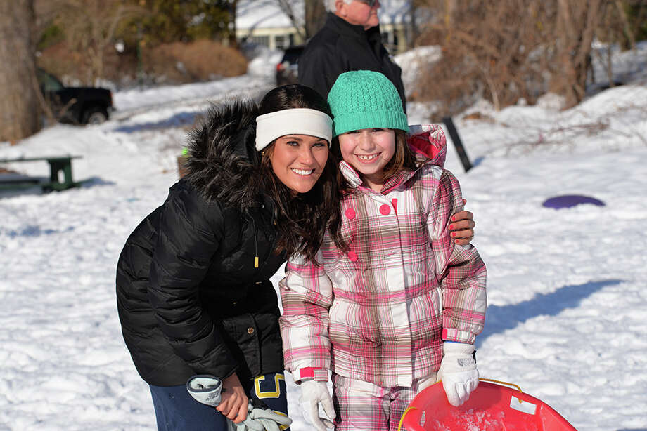 With all the snow we've been getting the past few days, what else is there to do but sled, build snowmen and throw snowballs? Were you SEEN sledding and having fun in the snow? Photo: Andrew Merrill