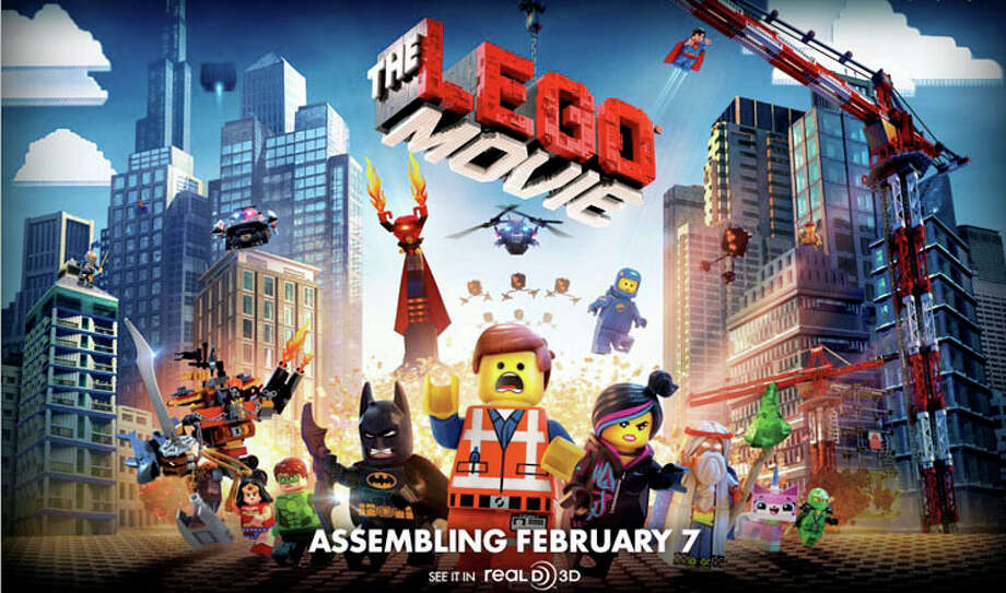 """The Lego Movie"" is an animated film that brings to life the famous building blocks, with voices provided by a cadre of well-known actors. Photo: Contributed Photo / Westport News contributed"