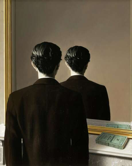 "Rene Magritte's ""Not to be Reproduced."" Photo: Studio Tromp, Rotterdam / ONLINE_YES"