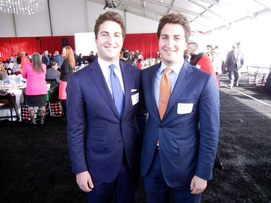Jason Goldman (left) and his brother, Matthew Goldman. Photo: Catherine Bigelow