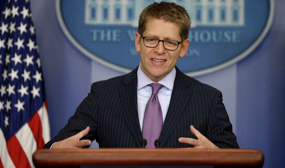 White House press secretary Jay Carney briefs reporters. A reader feels vindicated in his belief that some journ-alists do have biases. Photo: Associated Press / AP