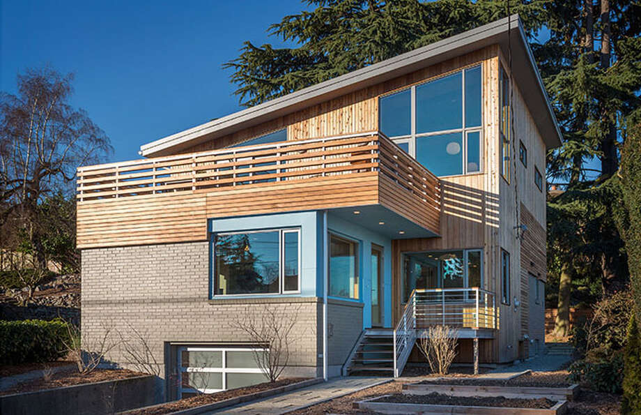 Front of HOMEreclaimed, at 4007 49th Ave. S. It's listed for $1.199 million. Photo: Aaron Leitz Photography/Courtesy Ninebark Design Build LLC
