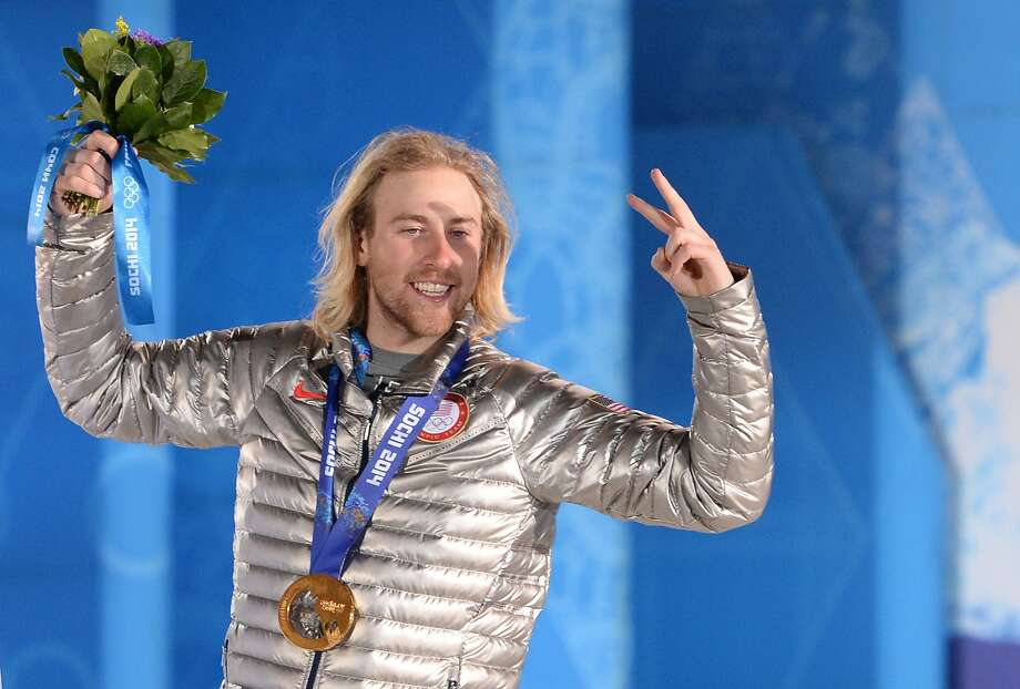 Sage Kotsenburg of the U.S. took gold in the men's snowboard slopestyle event. Photo: Andrej Isakovic, AFP/Getty Images