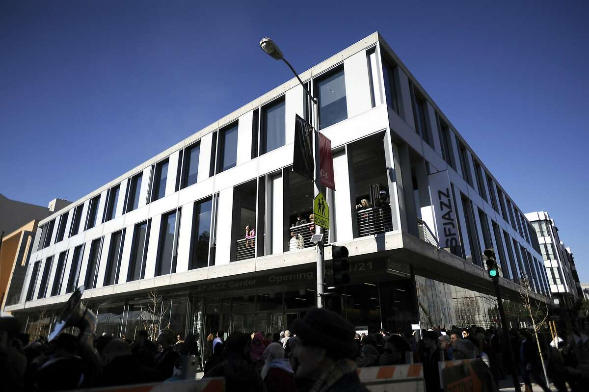 Grand opening of the new SF Jazz Center on Franklin Street in San Francisco, CA Monday January 21st, 2013.