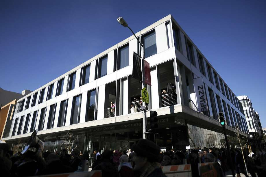 The SFJazz Center, the U.S.' first free-standing venue devoted exclusively  to jazz performance, had its grand opening in January 2013. Photo: Michael Short, Special To The Chronicle