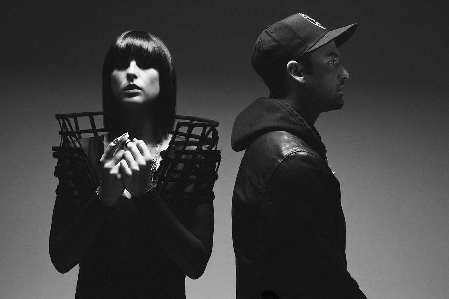 Sarah Barthel and Josh Carter of Phantogram grew up together in rural Greenwich, N.Y. Photo: Windish Agency