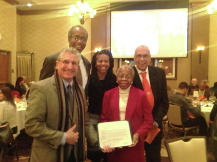 Clifton Park resident Dr. Constance Lenore Glasgow-Styles, who celebrated her 80th birthday, was pre