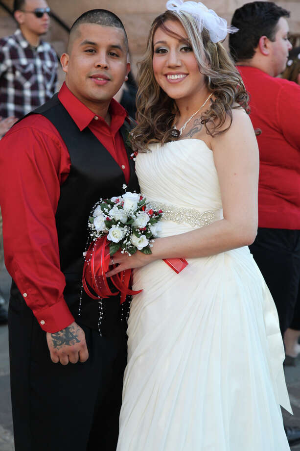 S Got Married At The Bexar County Courthouse On Valentine Day Feb 14