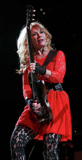 Nancy Wilson of Heart performs during the San Antonio Stock Show & Rodeo Friday Feb. 14, 2014 at the