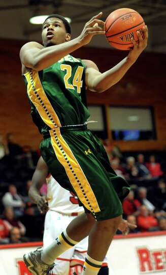 Siena's Lavon Long goes to the hoop during their basketball game against Marist on Friday, Feb. 14,