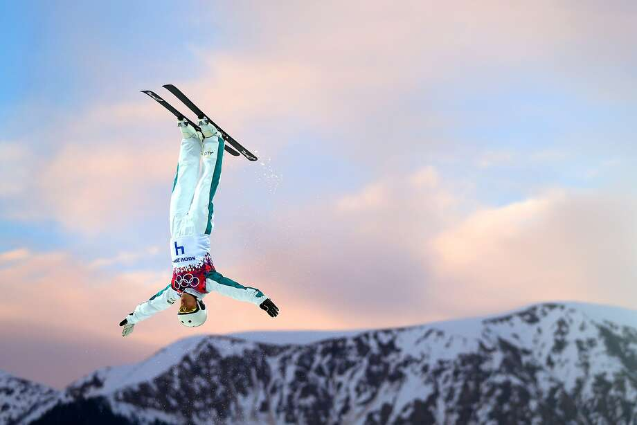 Lydia Lassila of Australia competes in the Freestyle Skiing Ladies' Aerials Qualification on day seven of the Sochi 2014 Winter Olympics at Rosa Khutor Extreme Park on February 14, 2014 in Sochi, Russia. Photo: Mike Ehrmann, Getty Images