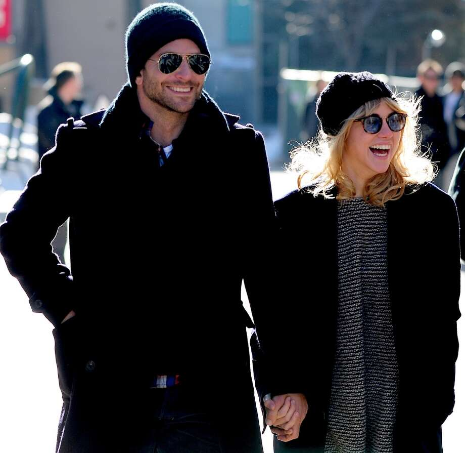 Bradley Cooper and Suki Waterhouse are seen at Sundance Festival on January 19, 2014 in Park City, Utah. Photo: Alo Ceballos, GC Images