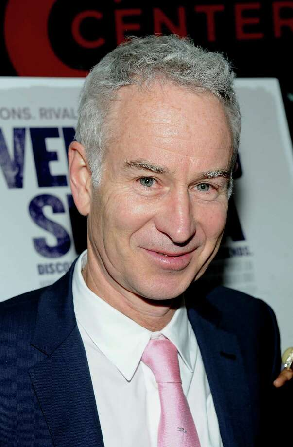 Tennis player John McEnroe attends the Venus and Serena Special Screening at the IFC Center on Thursday, May 2, 2013, in New York. (Photo by Brad Barket/Invision/AP) Photo: Brad Barket / Invision
