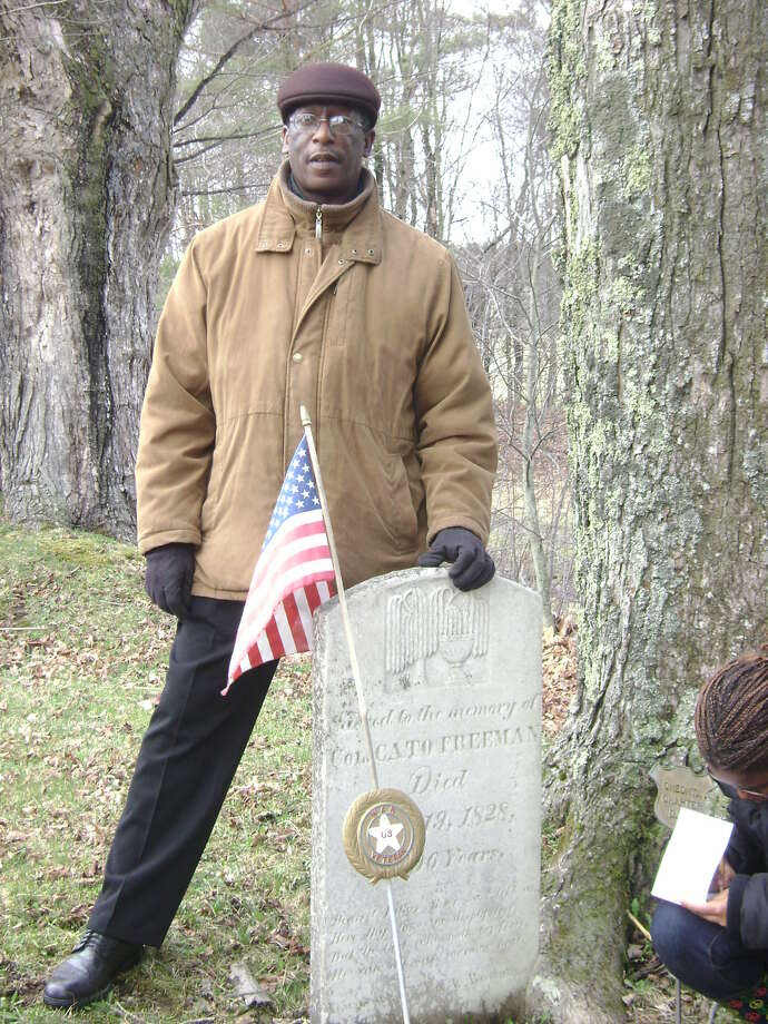 Provided Historian Harrry Bradshaw Matthews looks for gravesites of Afican American soldiers who fought in the Civil War.