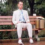"""""""Forrest Gump"""" (1994):  One of the worst best picture winners in history -- plodding and sentimental and lauded for technical achievements that have since been surpassed a hundred times over.  (How about PULP FICTION that same year?)"""