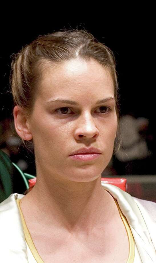 "Hilary Swank was fine in MILLION DOLLAR BABY -- but should she really have won a second Oscar over Annette Bening (""Being Julia""). Photo: Merie W. Wallace, AP / WARNER BROS PICTURE"