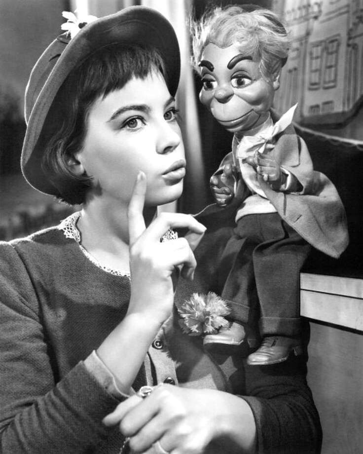 French actress Leslie Caron in the title role of 'Gigi', directed by Vincente Minnelli, 1958.  Charming, the best of the films nominated, but . . . how about VERTIGO, which wasn't nominated? Photo: Silver Screen Collection, Getty Images / 2013 Getty Images