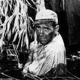 Humphrey Bogart in THE AFRICAN QUEEN -- lots of fun, but not better than Marlon Brando in STREETCAR.