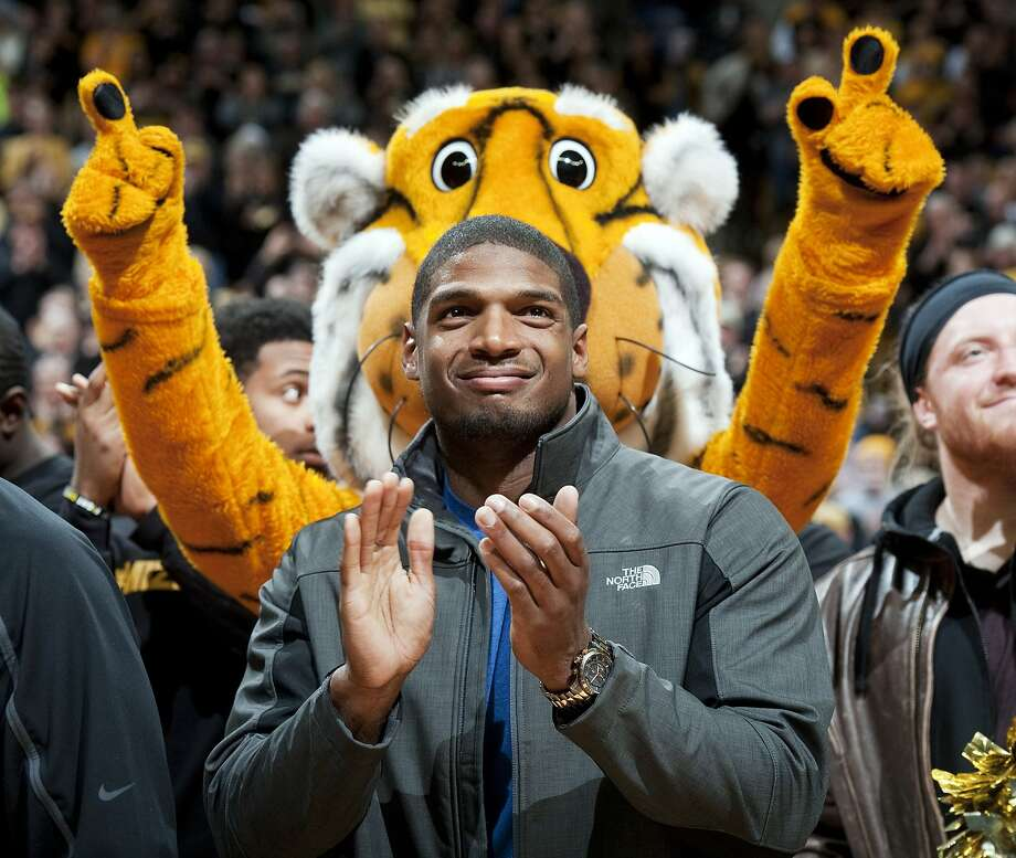 Missouri defensive end Michael Sam intends to be the first openly gay NFL player. Photo: L.G. Patterson, Associated Press