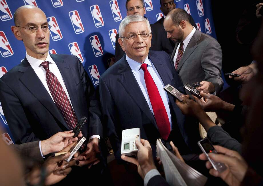 David Stern, NBA commissioner for 30 years, leaves a complex legacy. Photo: John Minchillo, Associated Press