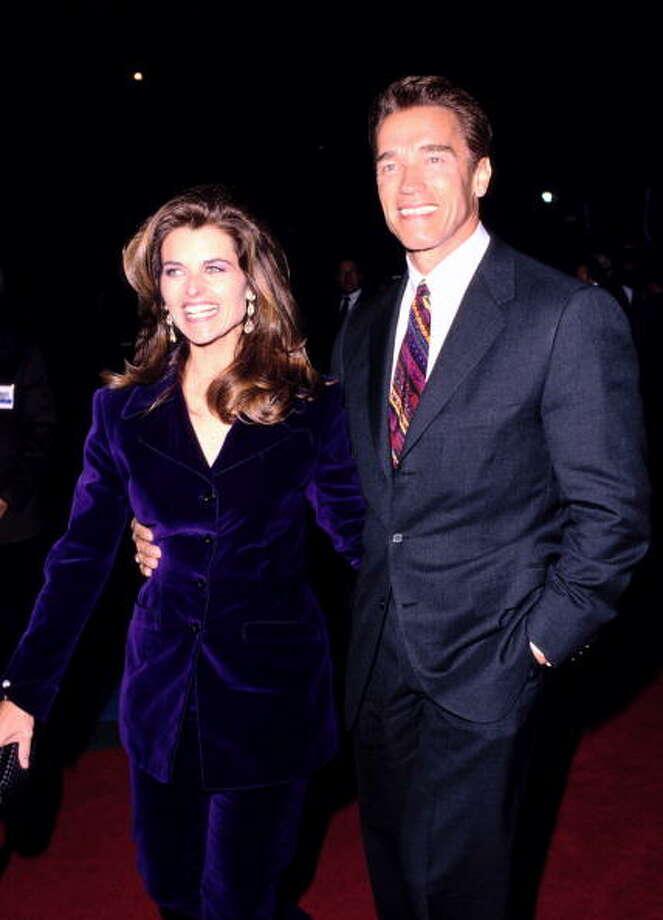 Maria Shriver and Arnold Schwarzenegger, 1994. (Photo by SGranitz/WireImage) Photo: SGranitz, WireImage / WireImage