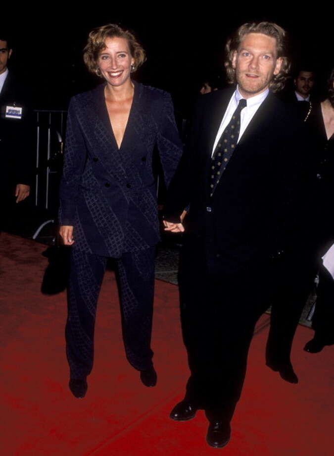 Emma Thompson and Kenneth Branagh at the Premiere of 'Frankenstein', Cineplex Odeon Cinemas, Century City, 1994. (Photo by Ron Galella/WireImage) Photo: Ron Galella, WireImage / Ron Galella Collection