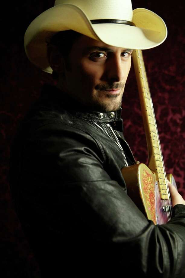 Country music star Brad Paisley performed Friday, Feb. 14, at Mohegan Sun Arena. Photo: Contributed Photo / The News-Times Contributed