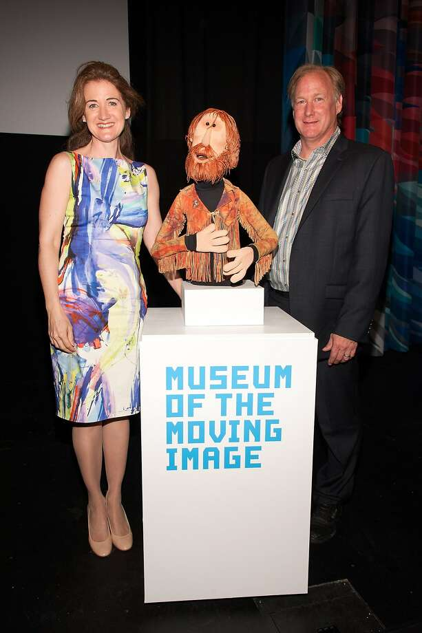 Cheryl Henson and brother John Henson at a Jim Henson Legacy event in New York City last spring. Photo: D Dipasupil, Getty Images
