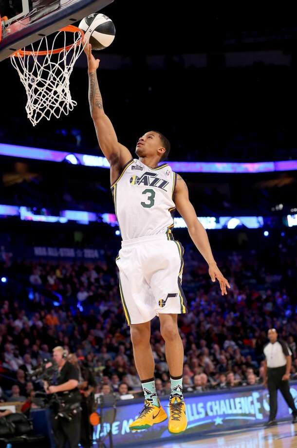 NEW ORLEANS, LA - FEBRUARY 15:  Western Conference All-Star Trey Burke #3 of the Utah Jazz competes in the Taco Bell Skills Challenge 2014 as part of the 2014 NBA All-Star Weekend at the Smoothie King Center on February 15, 2014 in New Orleans, Louisiana. NOTE TO USER: User expressly acknowledges and agrees that, by downloading and or using this photograph, User is consenting to the terms and conditions of the Getty Images License Agreement.  (Photo by Ronald Martinez/Getty Images) Photo: Ronald Martinez, Getty Images