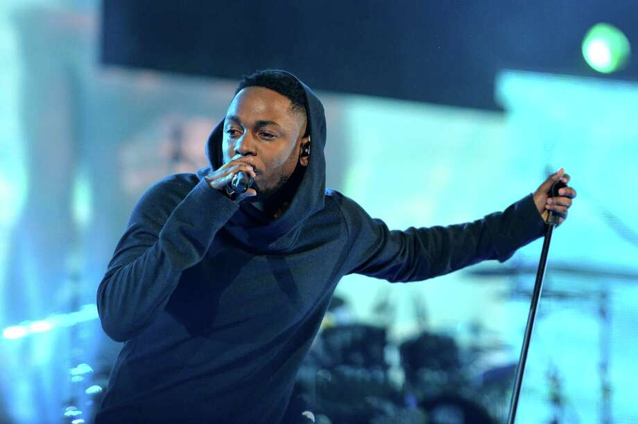 NEW ORLEANS, LA - FEBRUARY 15:  Musician Kendrick Lamar performs onstage at the State Farm All-Star Saturday Night during the NBA All-Star Weekend 2014 at The Smoothie King Center on February 15, 2014 in New Orleans, Louisiana. Photo: Mike Coppola, Getty Images / 2014 Getty Images