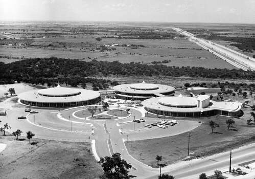 Marmon Mok's open, circular design for Holmes High School was ahead of its time. Photo: Courtesy Marmon Mok