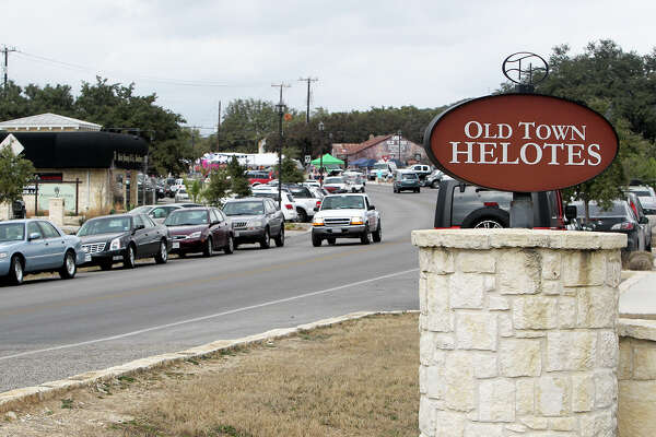 The south entrance into Old Town Helotes on Old Bandera Road on Saturday, Feb. 1, 2014.  Photo by Marvin Pfeiffer / EN Communities