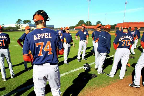 Astros hope spring training changes will improve team