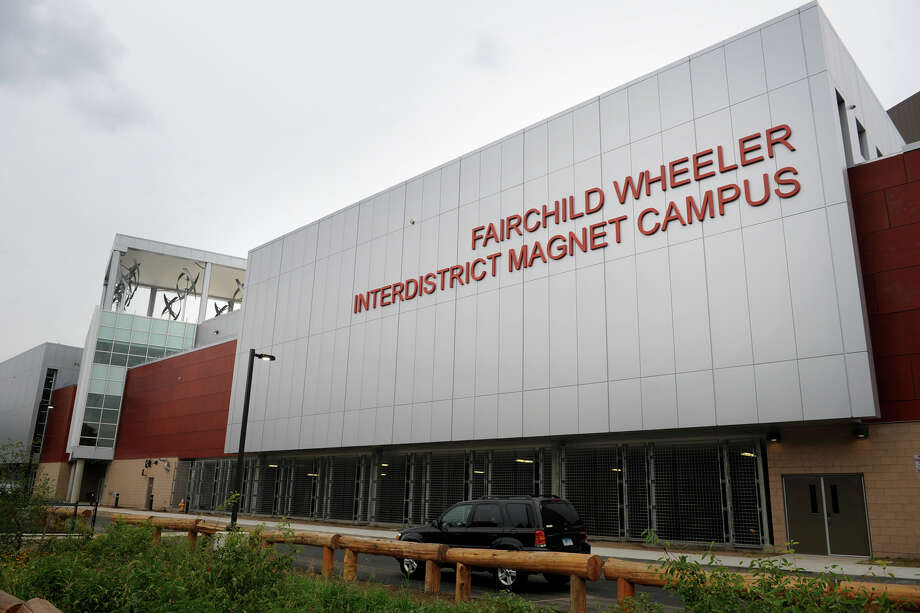The new Fairchild Wheeler Interdistrict Magnet School Campus, in Bridgeport, Conn., Aug. 19, 2013. Photo: Ned Gerard / Connecticut Post