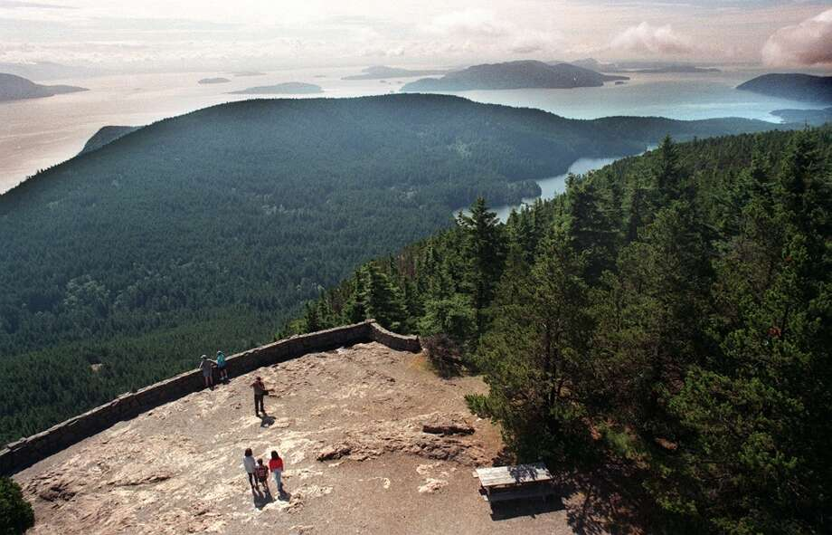 Hike Mount Constitution on Orcas Island. Photo: ROBIN LAYTON