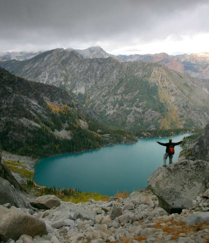 Backpack in the Enchantments, a spectacular, high-alpine basin of lakes, granite and mountain goats in the Central Cascades. It ranges from 4,400 to 7,800 feet in elevation and is so popular that there's a lottery system for visitors. Photo: JOSHUA TRUJILLO, SEATTLE POST-INTELLIGENCER