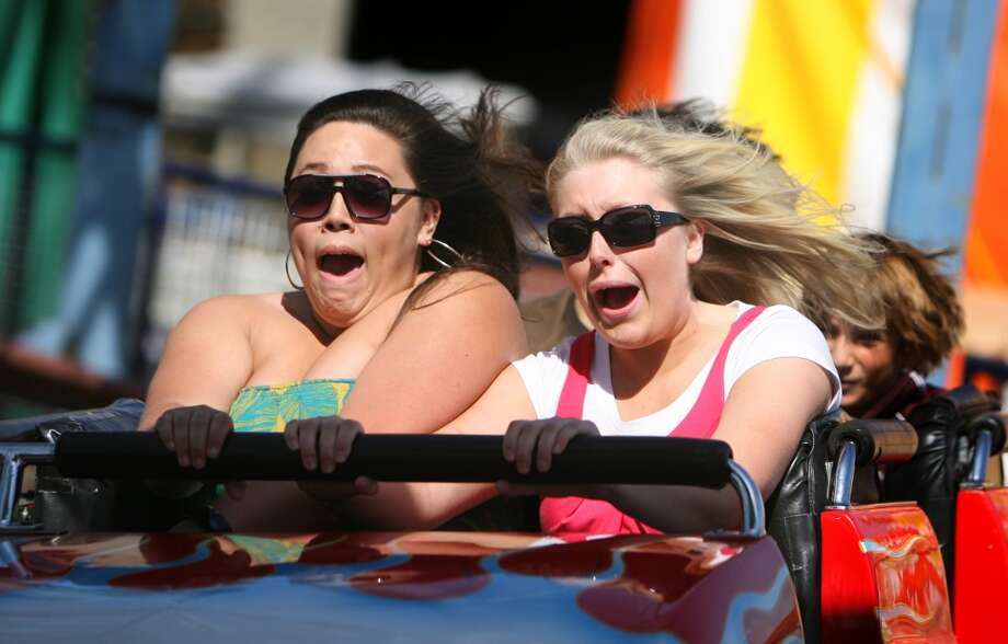 Be a kid and ride all the rides at the Puyallup Fair, er, Washington State Fair, and then ... Photo: Scott Eklund