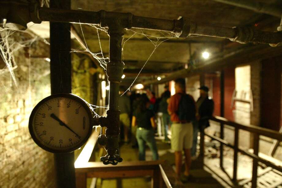 Check out Seattle's underground:See Pioneer Square's subterranean warren of passageways and rooms - the ground level  before the 1889 Great Fire destroyed much of Seattle. The city was rebuilt with elevated streets, and the lower level is now part of the Seattle Underground tour. Photo: JOSHUA TRUJILLO, SEATTLE POST-INTELLIGENCER