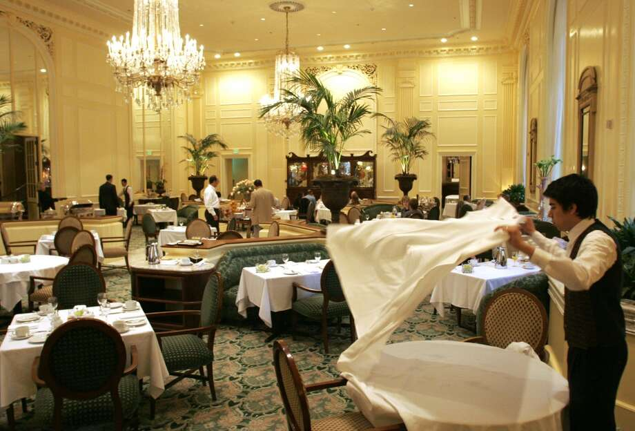 Have afternoon tea at the Fairmont Olympic Hotel. Better yet, stay in one of the rooms and order Champagne with your tea. Photo: NIKI DESAUTELS, SEATTLE POST-INTELLIGENCER