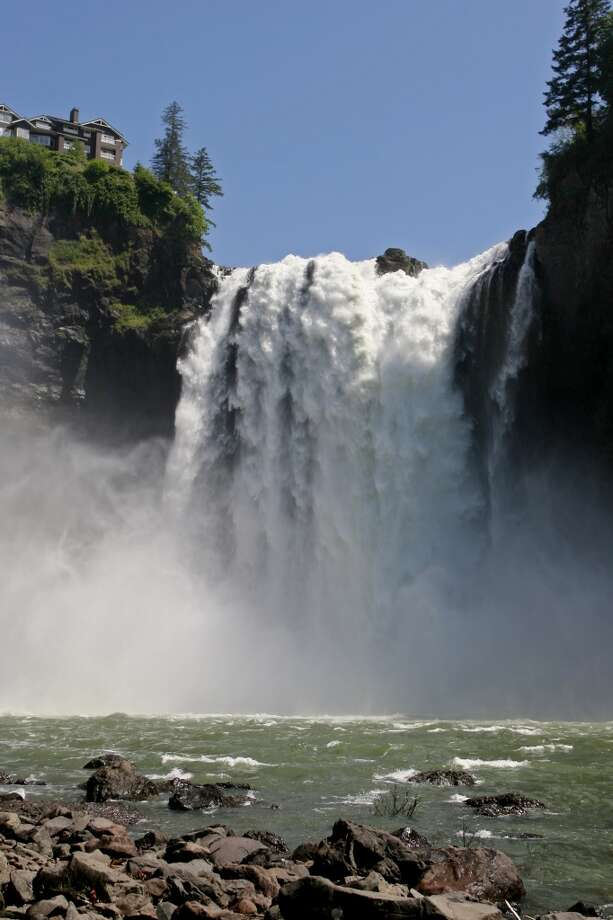 "Visit Snoqualmie Falls: There's a reason why this 268-foot waterfall attracts 1.5 million visitors a year. It's pretty, easy to visit and known from cult TV show ""Twin Peaks."" Photo: Dan DeLong, Seattle Post-Intelligencer"